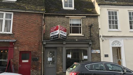 The vacant shop in Huntingdon that was formerly Found & Future. Picture: ARCHANT