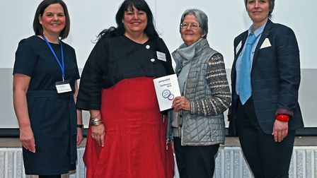 Carole Darlow, Sarah Conboy, Fay Dutton, and Esther Harris. Picture: ARCHANT