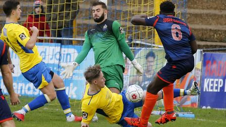 Dean Snedker pulled off two saves in the penalty shoot-out as St Albans City beat Watford in the Her