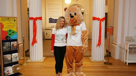 Herts Advertiser's It's OK To Say campaign founder Stacey Turner at the launch of Children's Mental