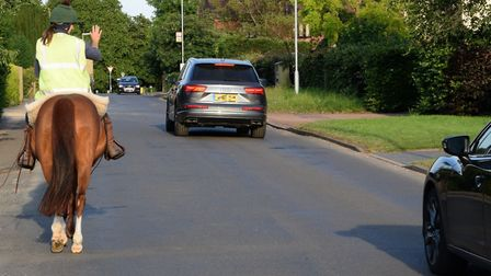 Police are urging road users to look out for horses on the roads as part of a fresh safety appeal.