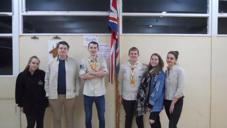 The 1st Radlett Scout group has reformed in time for its centenary celebrations. Picture: 1st Radlet