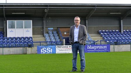 The chairman of St Neots Town FC, Lee Kearns, is hoping to get the club back on an even keel after a