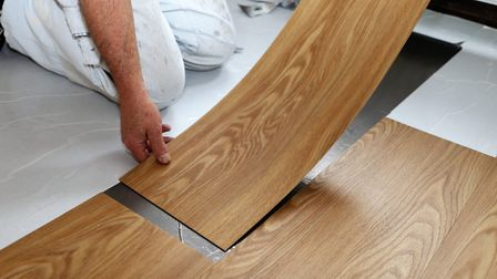 The low-cost vinyl option is all the rage among practical homeowners with middling budgets. Picture: