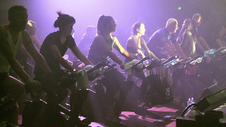 ICG Evolution ride event at the Burgess Hall in St Ives. Pictures: ARCHANT