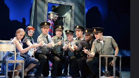 The Comedy about a Bank Robbery is at Cambridge Arts Theatre
