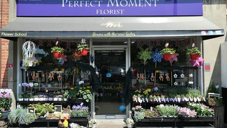 Perfect Moment Florists in Marshalswick Quadrant St Albans is encouraging customers to shop at small