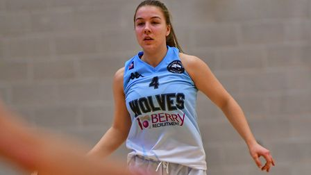 Fionnuala Wharton in action for Oaklands Wolves against Cardiff Met Archers. Picture: LELLO AMETRANO