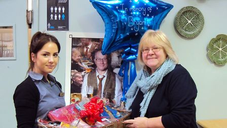 The café at the Bury Lane Farm Shop was host to a fundraising event in aid of Prostate Cancer UK. Pi