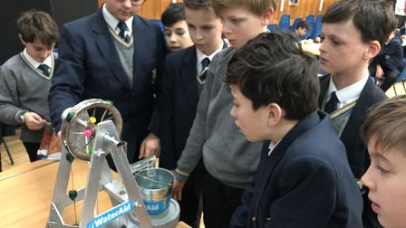 Verulam School's STEM Club has teamed up with Affinity Water to raise money for Water Aid. Picture: