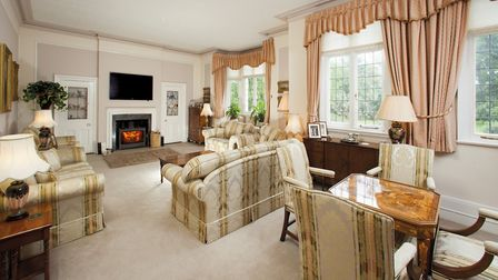 The property's total floor area is approximately 455 square metres. Picture: Ashtons