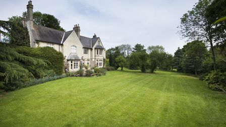 The gardens are a particular feature of the property. Picture: Ashtons