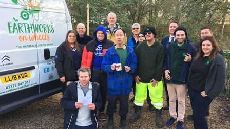 The Earthworks on Wheels launch. Picture: Archant