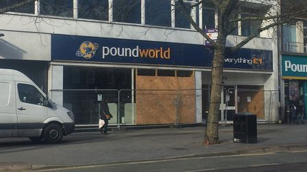 The former Poundworld shop has been bought by a private investor. Picture: Aitchison Raffety