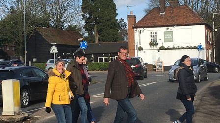 The King Harry junction in St Albans is set to get zebra crossings to make it safer for pedestrians.
