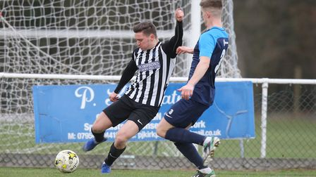 Colney Heath V Arlesey Town - Danny McCafferty in action for Colney Heath.Picture: Karyn Haddon