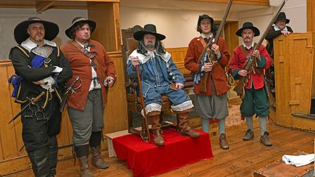 A re-enactment of the trial of Charles I, held in Huntingdon Town Hall. Picture: ARCHANT