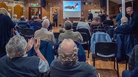 A recent meeting at the St Neots and District Camera Club