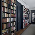 Reading room: Specialist finishes like this using the Railings range from Farrow & Ball give book ca
