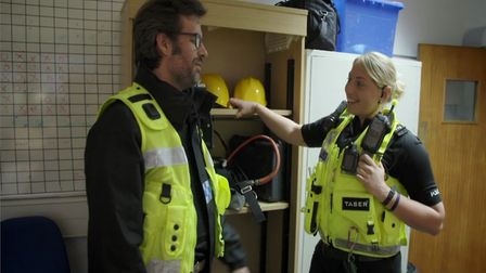 Comedian Marcus Brigstocke will be shown responding to real 999 calls, working in custody, as well a