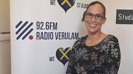 Jodie Smart at Radio Verulam. Picture: Jodie Smart