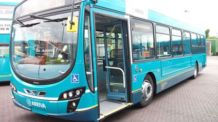 Arriva buses in Hertfordshire will accept contactless payments from Sunday.