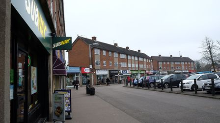 The Quadrant shops in Marshalswick. Picture: Danny Loo