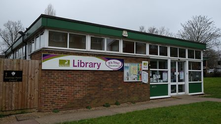 Marshalswick library. Picture: Danny Loo