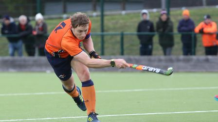 Matt Davey was on target twice for St Albans against Cambridge University. Picture: DANNY LOO