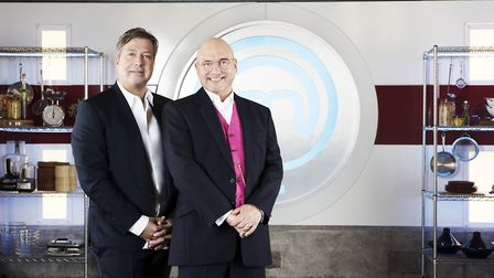 John Torode and Gregg Wallace on MasterChef. Picture: Production Shine TV Ltd
