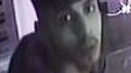 Do you recognise this man? Police have released this CCTV image following a theft in St Albans' The