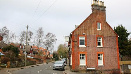 The former White Hart pub on High Street, Markyate, is now a private house. Picture: DANNY LOO
