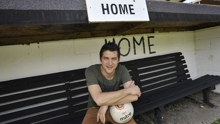Ricky Marheineke following his appointment as St Ives Town manager back in 2014. Picture: ARCHANT