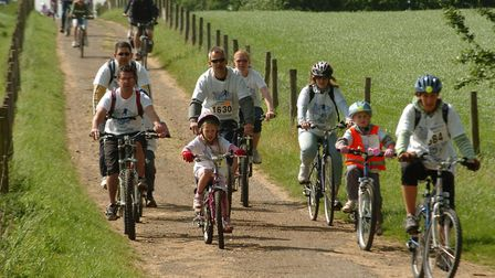 St Albans Charity Cycle Ride in 2008