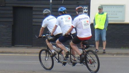St Albans Charity Cycle Ride in 2011.
