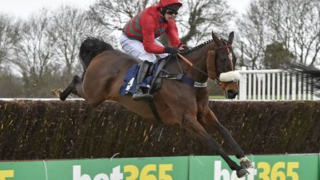 Station Masters triumphed in the Racing TV Novices' Chase at Huntingdon last Sunday. Picture: FRANCE