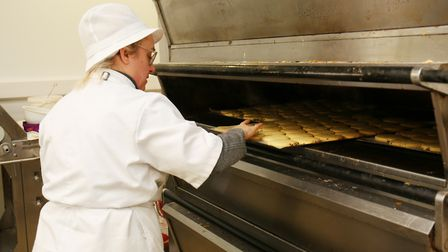 Making bread at Bury Lane Bakery. Picture: DANNY LOO