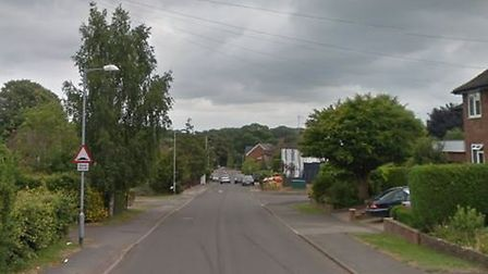 Police were called to suspicious activity in Roundwood Lane in Harpenden. Picture: Google Street V