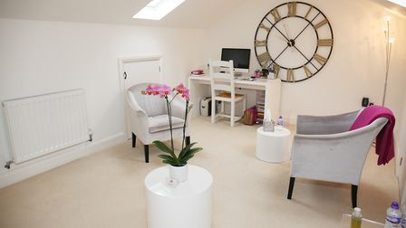 Counsellor and psychotherapist Indira brings clients to this peaceful space. Picture: DANNY LOO
