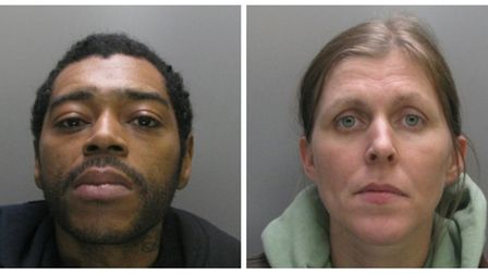 Left to Right - Leon Ward and Astra Marriott. Both were found together in a bedroom where there wa