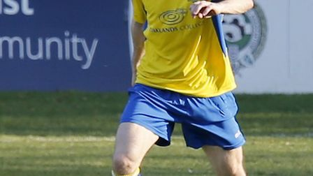 James Ewington made his debut for St Albans City against Truro City. Picture: LEIGH PAGE