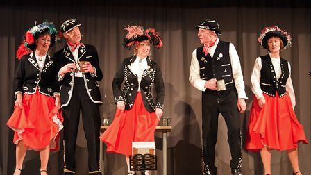 The Rotary Club of Huntingdon Cromwell hosted a vaudeville evening in Buckden. Picture: ARCHANT