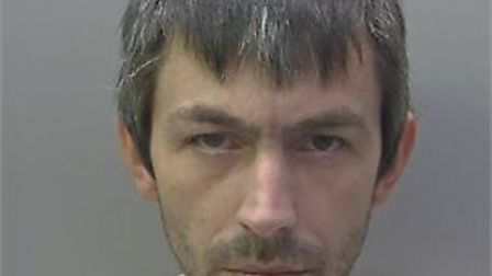 Craig Stark, 35, was spotted engaging in a drug deal by officers on patrol in Huntingdon.