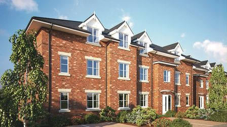 There are nine one and two-bed apartments at the Waverley Green development, located off Waverley Ro