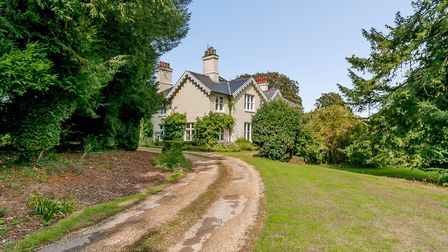 The property's origins are Georgian, with Victorian, Edwardian and more recent additions. Picture: C