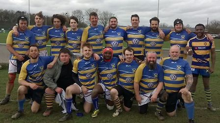 St Albans Rugby Club put out a third team against Biggleswade with a little help from the University