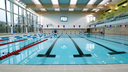 Westminster Lodge swimming pool in St Albans. Picture: Kim Sweet
