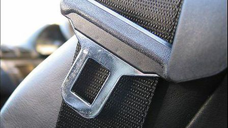 Nearly 400 people were caught not wearing a seatbelt last year in Cambridgeshire