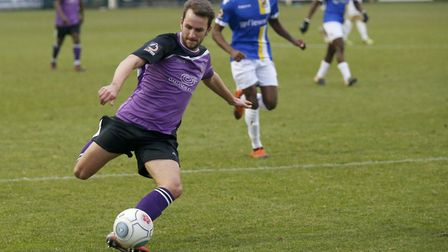 Sam Merson returned to action following an extended lay-off. Picture: LEIGH PAGE