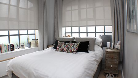 The dual aspect master bedroom. Picture: Bradford & Howley
